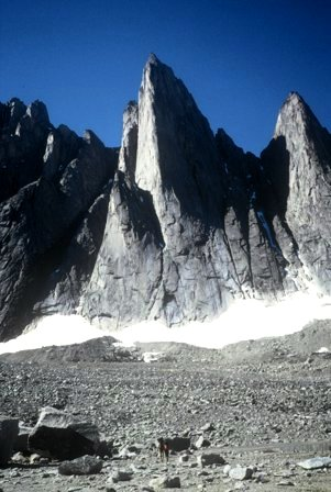 2002. Together with Mårten Blixt and Björn Krane in Greenland. We esablished a new route in the Tininnertoq Valley