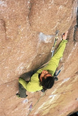 2000. Maraton, Damtjern, Norway. First 8b.