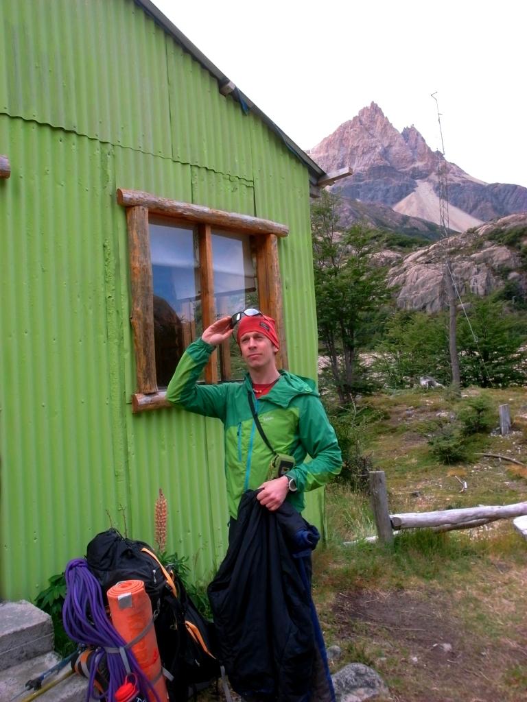 Mange getting into alpine mode.